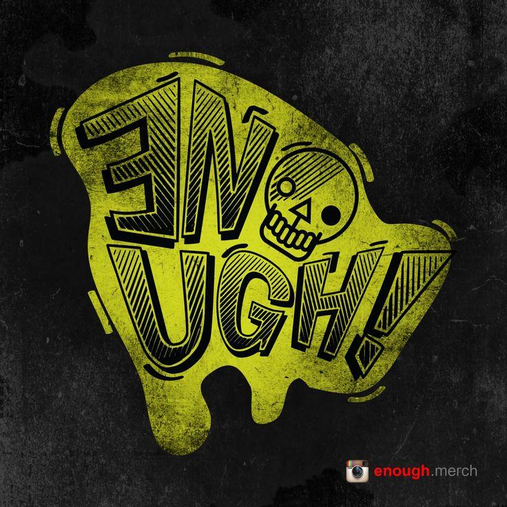 artwork logo_ENOUGH.MERCH