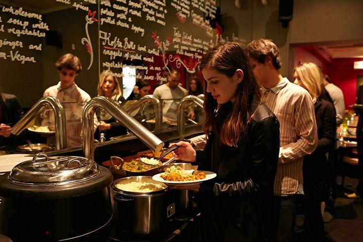 Govinda's - vegetarian indian buffet and movie room