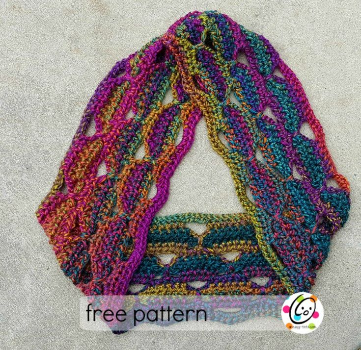 Mejores 323 imágenes de scarfs en Pinterest | Ganchillo libre ...