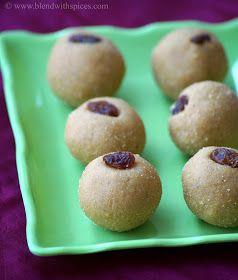 Indian Cuisine: Khoya Besan Laddu Recipe - Diwali Sweets Recipes
