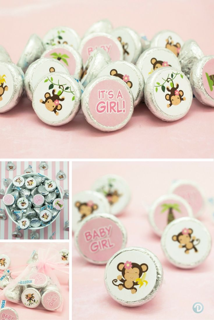 40 best monkey themed baby shower images on pinterest jungles monkey baby showers and monkey - Monkey baby shower favors ideas ...