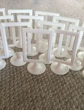 15 white ikea frames. Perfect for table numbers!