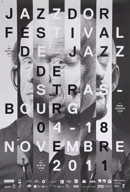 thedesignerandthegrid:   Jazzdor 2011 poster,... - Visualgraphc