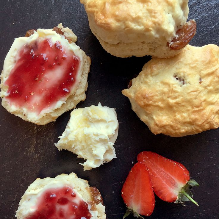 Get the recipe for delicious fruit scones on the Morphy Richards Cook & Create App - the perfect baking recipe for the bank holiday weekend.