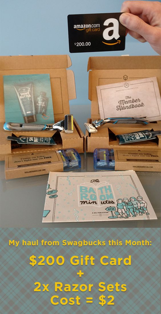 Try Dollar Shave Club today and Get up to $20 in PayPal cash - plus new members now get a $5 Signup Bonus!