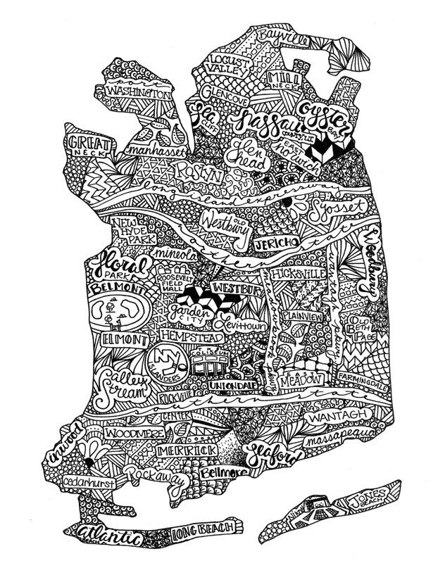 Nassau County, Long Island NY by lovetravels8 on Etsy https://www.etsy.com/listing/252035469/nassau-county-long-island-ny