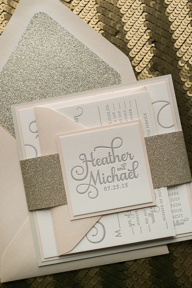 Blush+and+Gold+Fancy+Wedding+Invitations