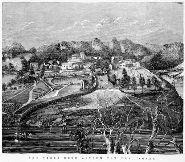 Yarra Bend Asylum for the Insane, 1868