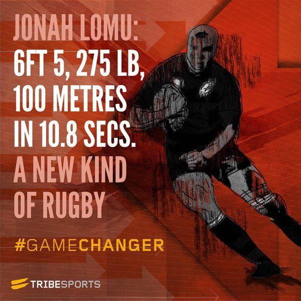 #GameChanger - Jonah Lomu #rugby #sport #fitness #training
