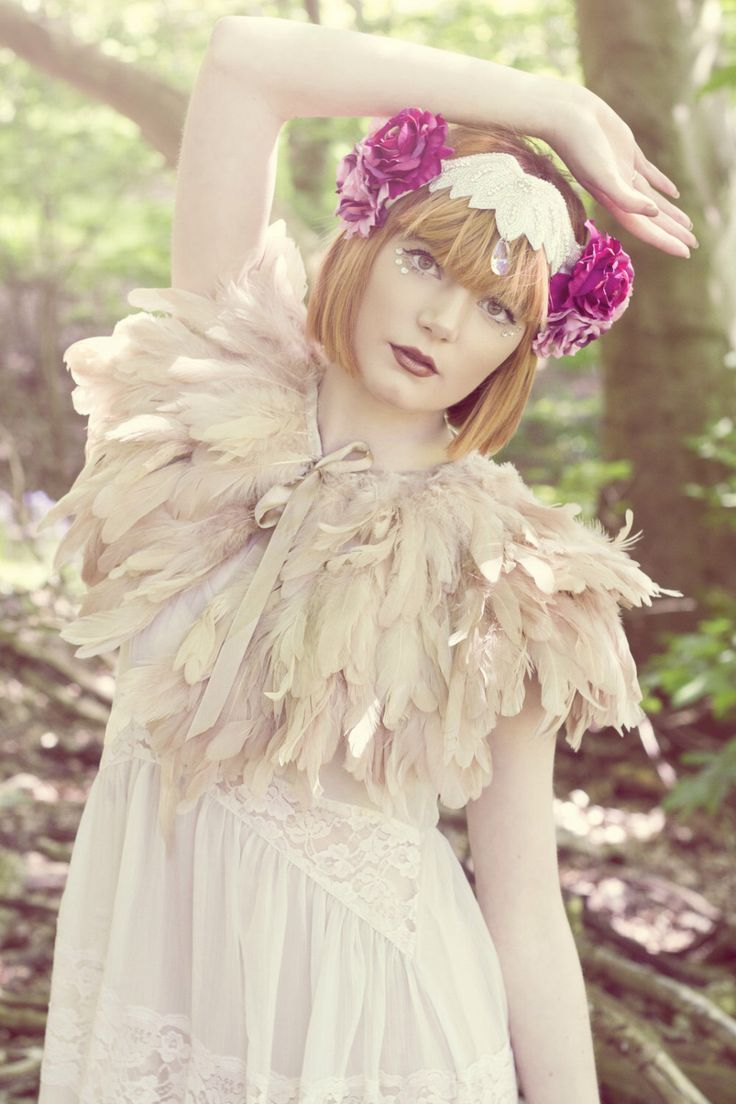 Ophelia flower headpiece, Gatsby rose crown, bridal headdress,  vintage style crown,  flapper headpiece by rougepony on Etsy https://www.etsy.com/listing/199580676/ophelia-flower-headpiece-gatsby-rose