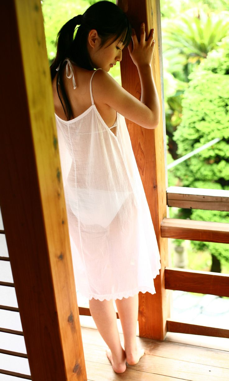mizuho nishimura    Kakei Miwako  Summer dresses White dress Dresses