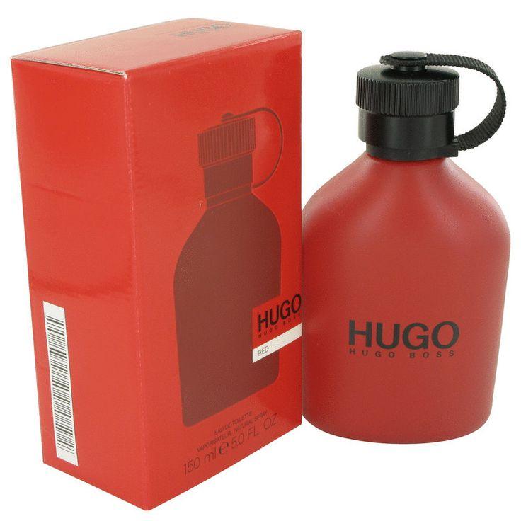 Hugo Red by Hugo Boss Eau De Toilette Spray 5 oz (Men)