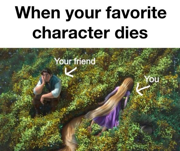 """And me when I'm killing a favorite character: """"I am a despicable human being."""" DX"""