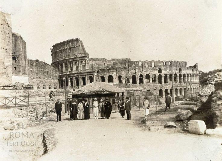 Via Sacra (1921) | Roma Ieri Oggi