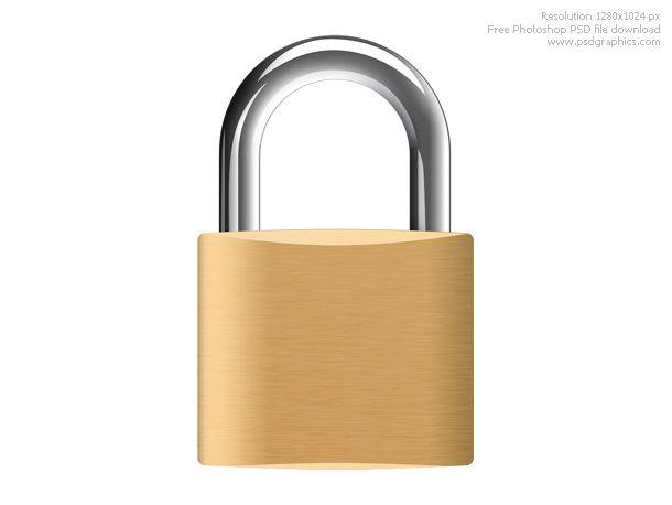 padlock: a detachable lock having a hinged or sliding shackle