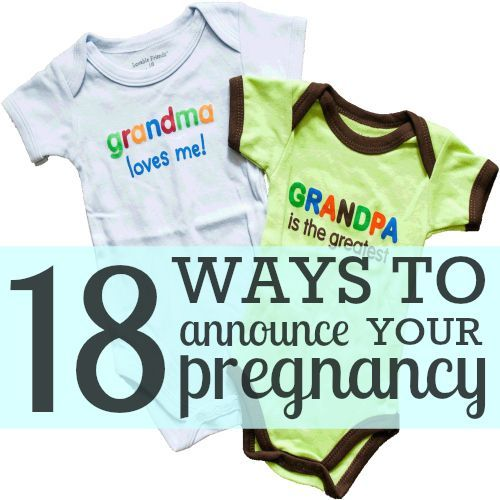 Daily Mom » I'm Pregnant! 18 Ways to Tell Your Husband & Family