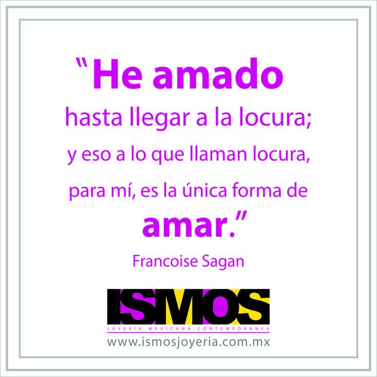 Francoise Sagan hablando de amar con locura // ISMOS Joyería