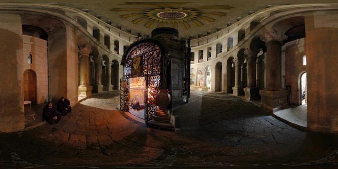 Kurangnya perawatan membuat gereja yang dibangun di atas makam Yesus yang berusia hampir 2.000 tahun di Jerusalem mengalami kerusakan berat.