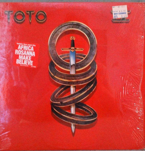 Toto  Toto IV 1982  LP Album Vinyl Record  Pop Rock by DorenesXXOO
