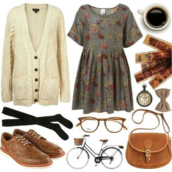 Dress with Oxford shoes