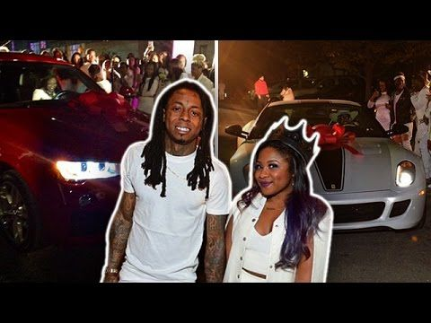 Lil Wayne's Daughter Gets TWO Cars For Her 16th Birthday!  [Video] - http://www.yardhype.com/lil-waynes-daughter-gets-two-cars-for-her-16th-birthday-video/