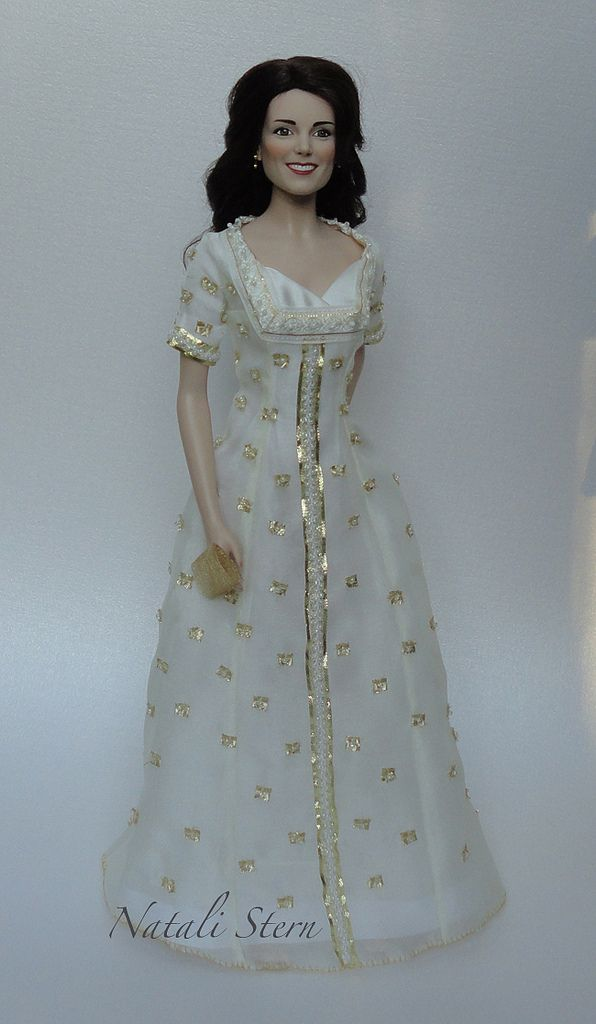 The 38 best Franklin Mint Kate Middleton doll images on Pinterest ...