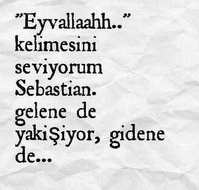 """""""Eyvallah"""""""