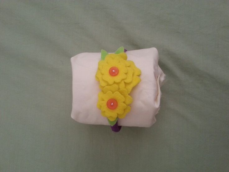 Little Girl Felt Flower Head band