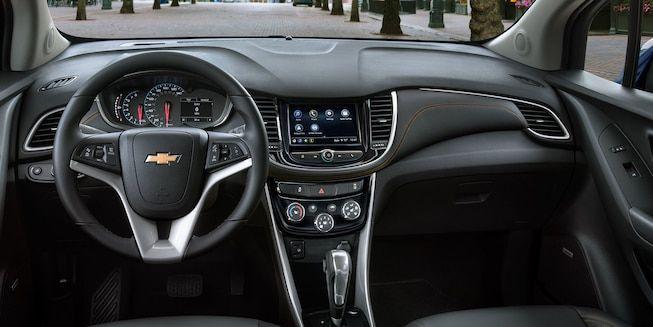 2019 Trax Compact Suv Technology Dashboard Compact Suv