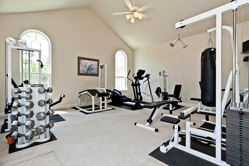 one day I will have a home gym like this!