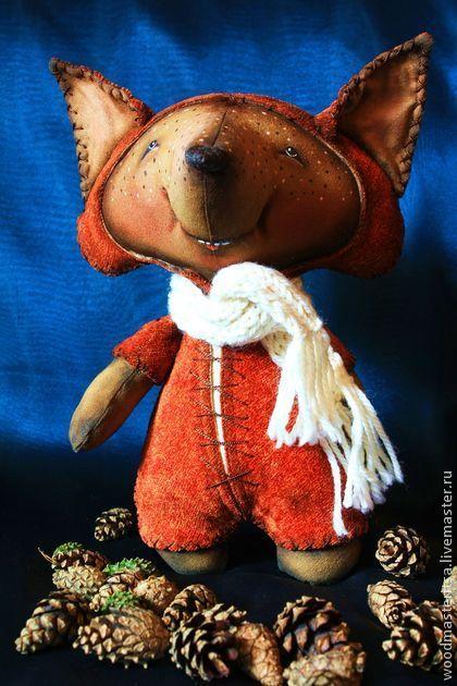 Лисичка Плутяша - рыжий,лиса,лисичка,хитрый,эксклюзивная игрушка,позитив