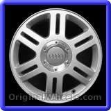 Audi A6 2002 Wheels & Rims Hollander #58730 #Audi #A6 #AudiA6 #2002 #Wheels #Rims #Stock #Factory #Original #OEM #OE #Steel #Alloy #Used
