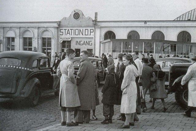 station Rotterdam Centraal stationsgebouw II (1947)