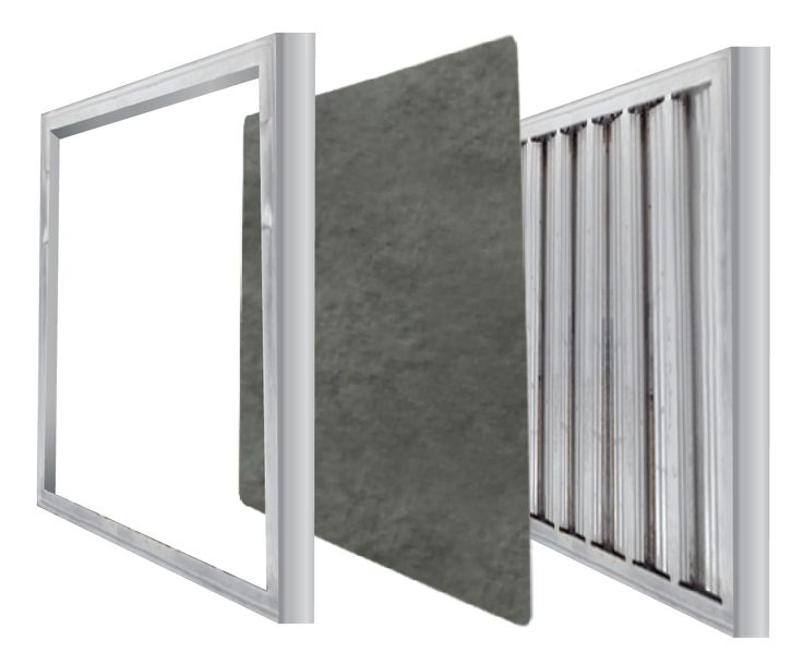 How do shepherd commercial kitchen grease filters work for Commercial kitchen grease filters