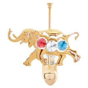 10 best elephant baby gifts images on pinterest elephant gifts carousel elephant night light with mixed color swarovski austrian crystals elephant giftselephant babyaustrian negle Image collections