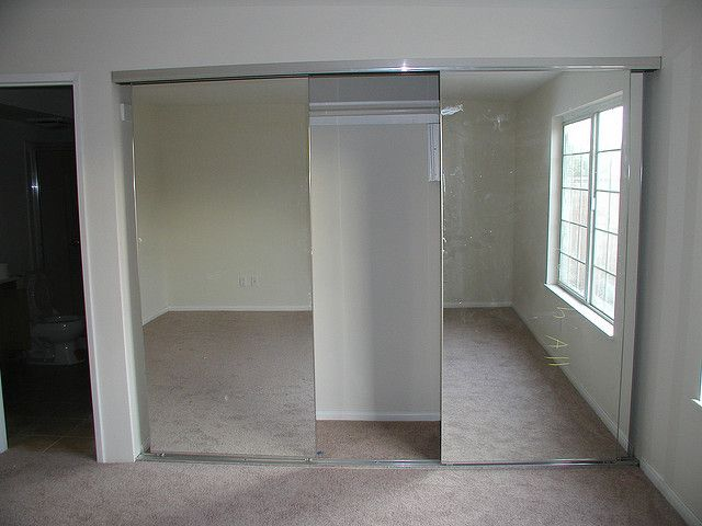 Frameless Sliding Mirror Closet Doors When I Can