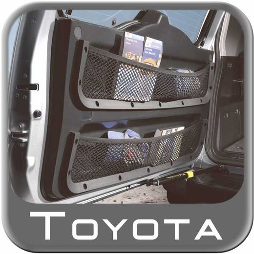2007-2014 Toyota FJ Cruiser Cargo Net Rear Door Storage Net Dual Pocket Design Includes One Net Sold Individually Genuine Toyota #PT912-35070