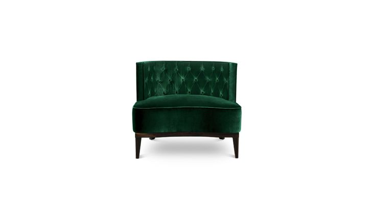 The royalty, class and luxury of the Bourbon dynasty, represented by Louis XIV, inspired the velvet Bourbon armchair, which makes up any refined ambience. | Discover more bedroom chairs ideas: http://masterbedroomideas.eu