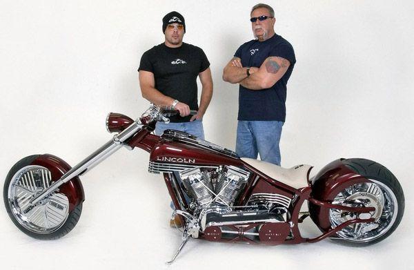 American Choppers  Paul Teutul Sr. and Paul Teutul Jr.