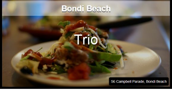 Bondi Beach - With friendly service and tasty fare, this cafe is a winner.  Oh, and did we mention their spectacular views over Bondi Beach? http://www.pinterest.com/WhoLoves/Top-Ten-Lists #Sydney #Cafe #Top10 #TopTen