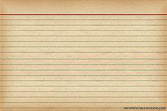 free vintage recipe card download - 2 sizes