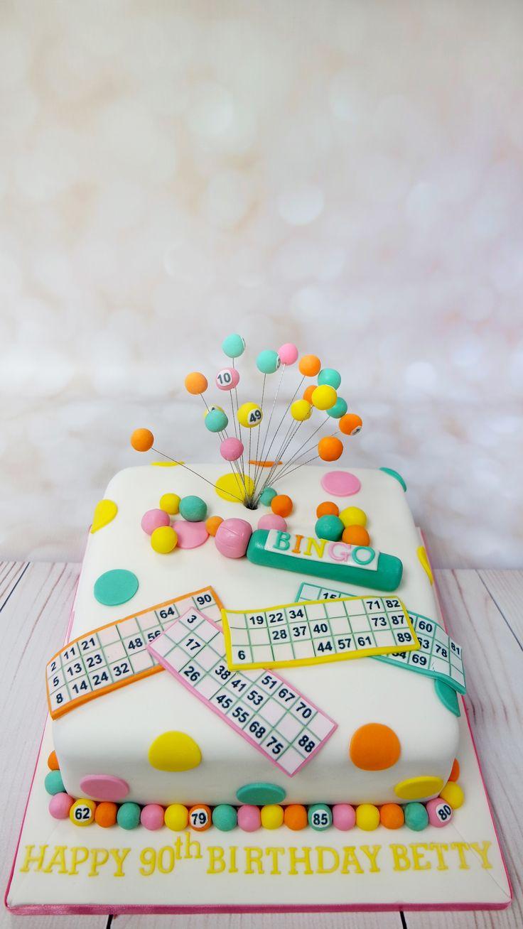 """""""Number 8, Garden Gate"""" Bingo! Lovely fun themed cake for a Bingo fan"""""""