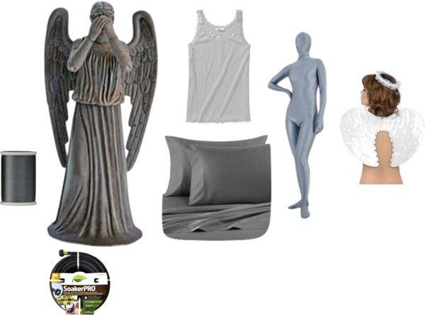 Easy Weeping Angel Costume