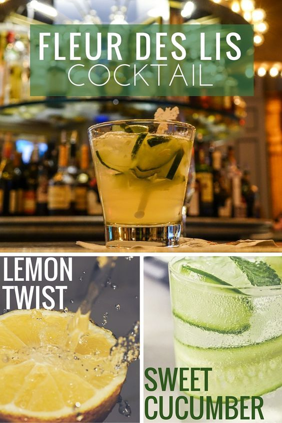 Nothing says late summer more than the flavors of botanical gin, vibrant lemon, refreshing cucumber, and a slight spice of ginger. And with the Fleur des Lis cocktail – well, you can taste them all in a single sip.