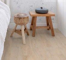 Home plus Stick - White oak: Zelfklevende pvc vloer (368)