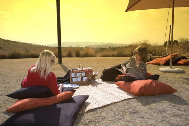 Picnic at Maropeng in the Cradle of Humankind, Gauteng, South Africa.