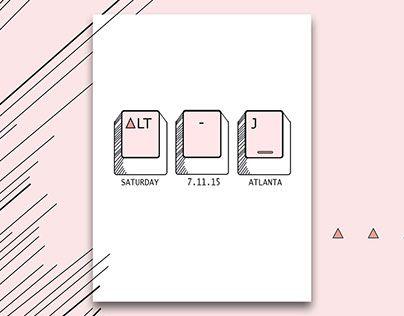 "Check out new work on my @Behance portfolio: ""Alt-J Concert Poster"" http://be.net/gallery/47045367/Alt-J-Concert-Poster"