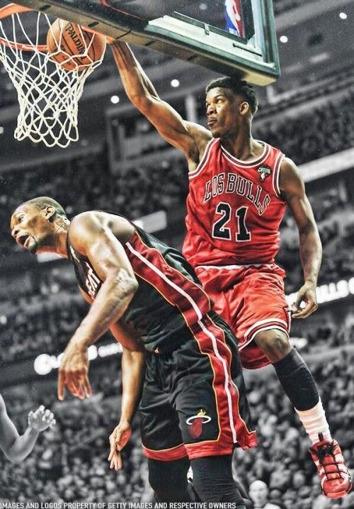 Jimmy Butler Dunks On Chris Bosh (VIDEO)
