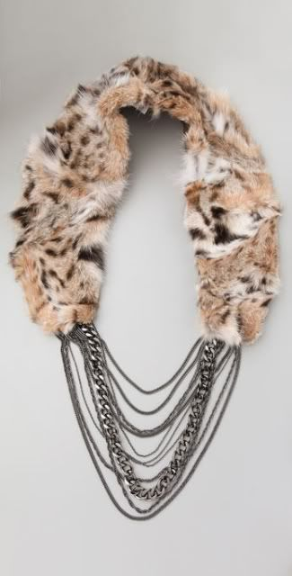 fur jewelry | ... Marchesa Gowns, Haute Hippie fur collars, RichRocks jewelry and more