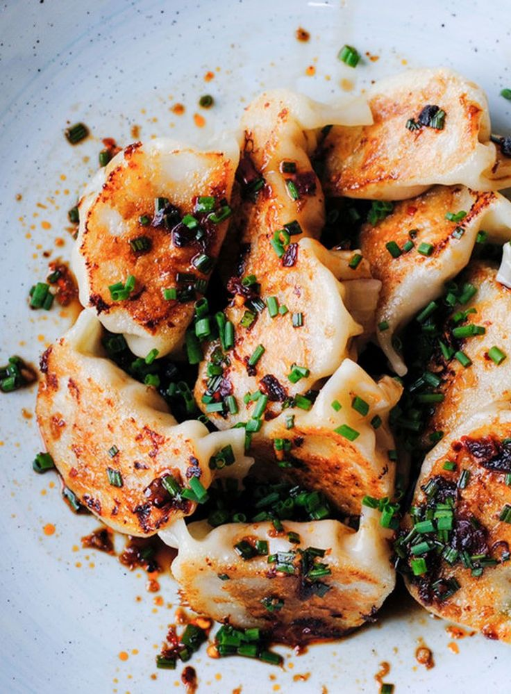 These Chinese dumplings are incredibly succulent and flavourful.